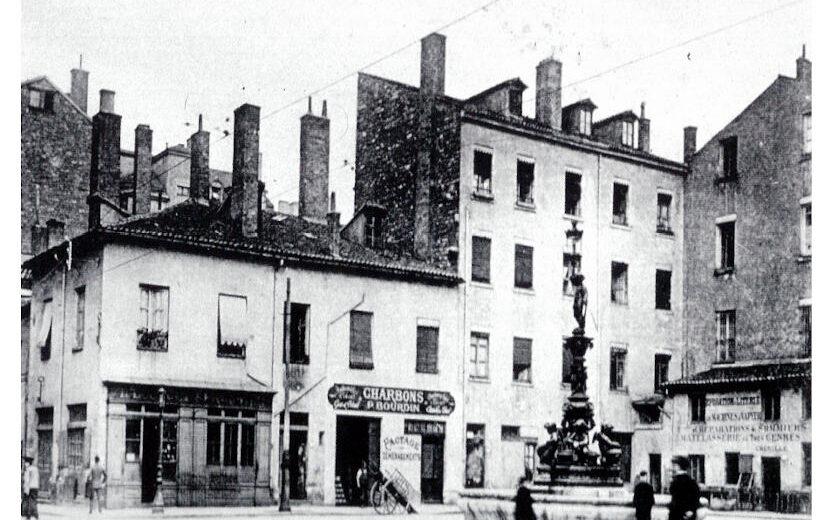 Place Antoine Vollon en 1875