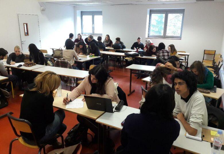 collaboration ILCF - ESTRI - 2018 - travail de groupes entre étudiants