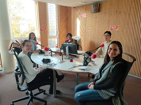 étudiants à la radio - média - Unisphère RCF