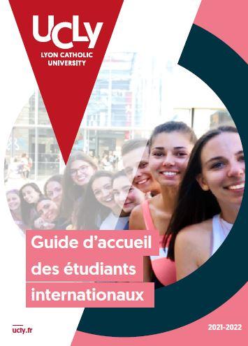 couverture du guide d'accueil des étudiants internationaux - UCLY